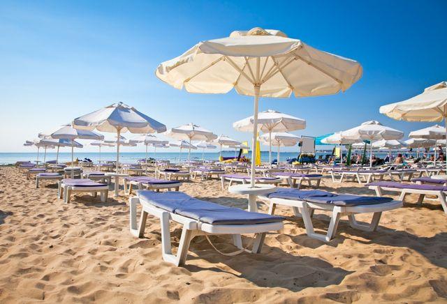 Недвижимость на болгарском побережье - пляж в Солнечном берегу