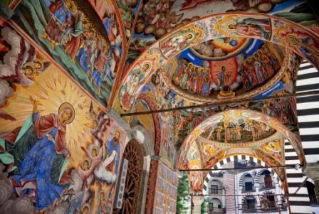Роспись Рильского монастыря. Фото: shutterstock.com