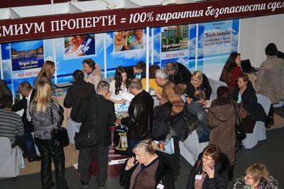 Стенд Премиум Проперти на выставке Болгарский дом 2014